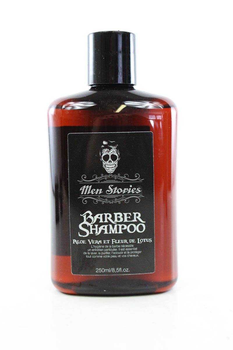 Men Stories Barber Shampoo Aloe Vera Et Fleur De Lotus 250ml