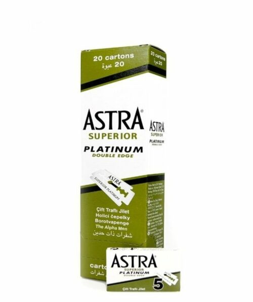 Astra Superior Platinum Double Edge 20x5